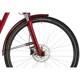 Cube Cross Hybrid Pro Allroad 400, darkred'n'red